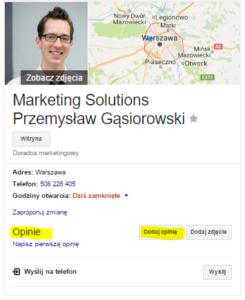 opinie - Google